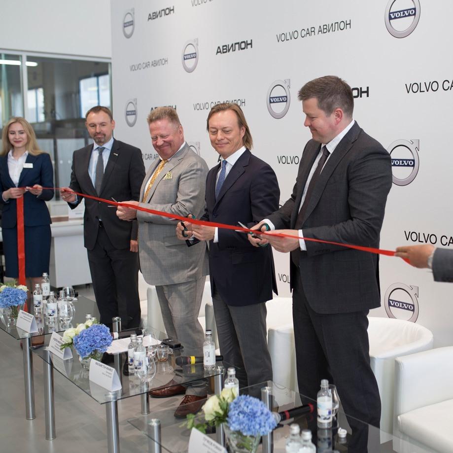 Состоялось торжественное открытие Volvo Car Авилон