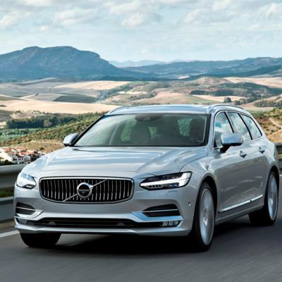 Новый Volvo v90 презентовали на выставке «euro car» в париже