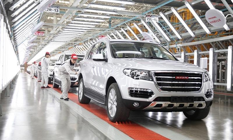 В Китае началось строительство нового завода Haval