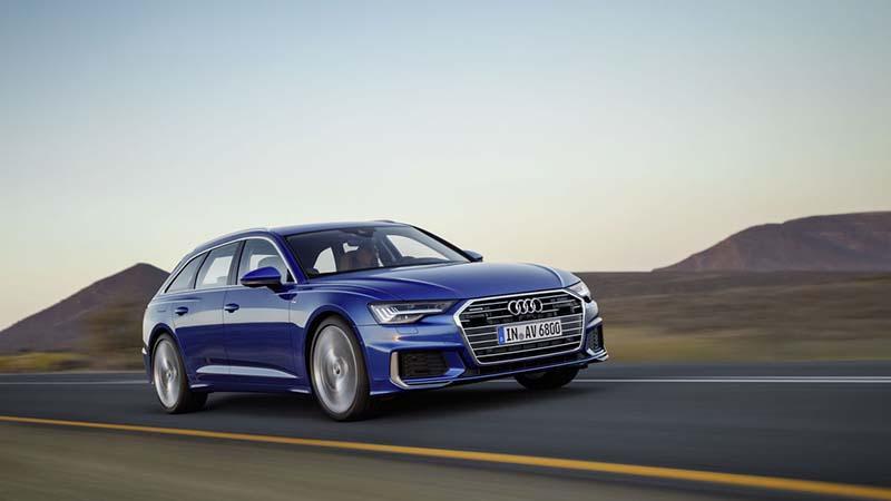 Audi представила новый универсал A6 Avant 2018 года