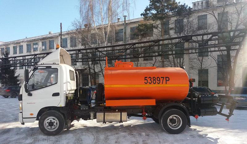 FOTON:Foton предлагает грузовики для коммунальных служб