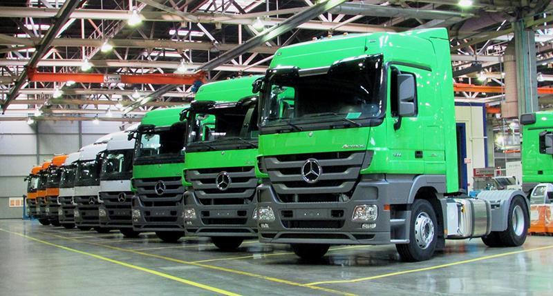 Mercedes-Benz:Mercedes-Benz передал юбилейный грузовик ключевому клиенту «ДАЙМЛЕР КАМАЗ РУС»