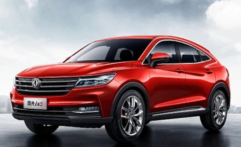 Dongfeng:Dongfeng Motor представила новый купе-кроссовер DFM iX5