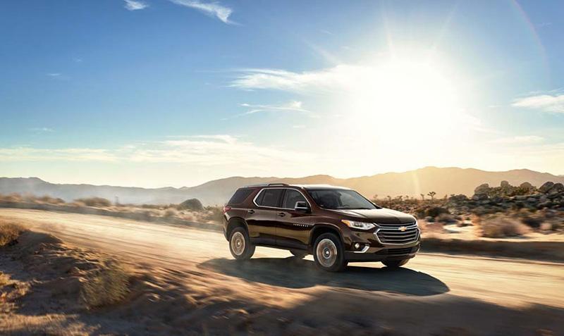 Chevrolet:Новый кроссовер Chevrolet Traverse доступен для заказа в России