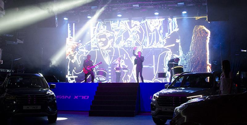 В Москве состоялась презентация нового кроссовера LIFAN X70