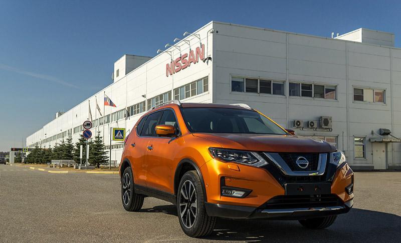 На заводе в Санкт-Петербурге началась тестовая сборка обновленного Nissan X-Trail