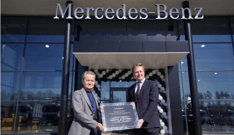 Mercedes-Benz:В Иркутске состоялось открытие дилерского центра грузовой техники Mercedes-Benz