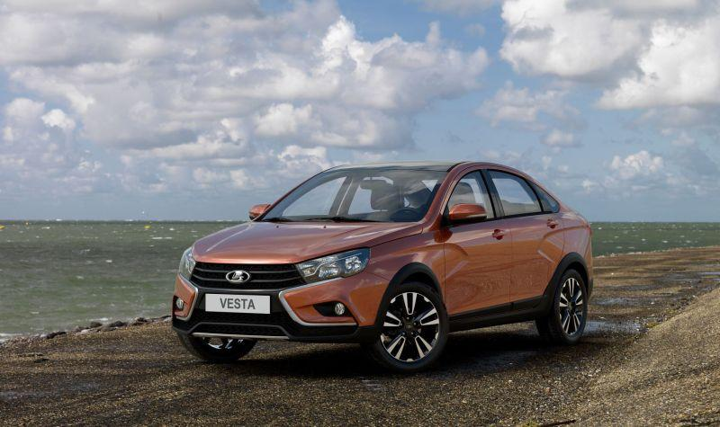 LADA запустила серийное производство седана Vesta Cross