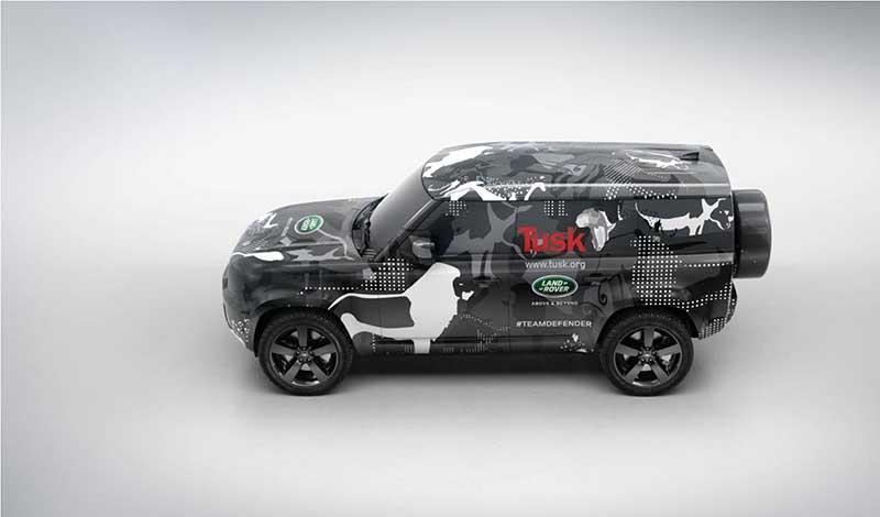 Land Rover:Новый Defender 2020 проходит заключительные испытания в Кении