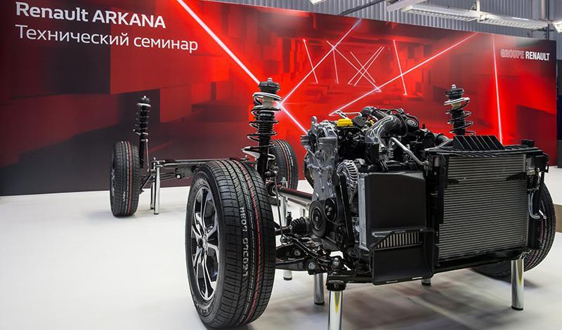 Renault представит в России купе-кроссовер RENAULT ARKANA
