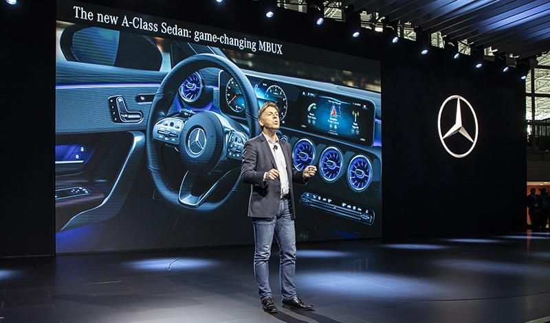 Автосалон Нью-Йорка 2019: Mercedes-Benz представил новинки