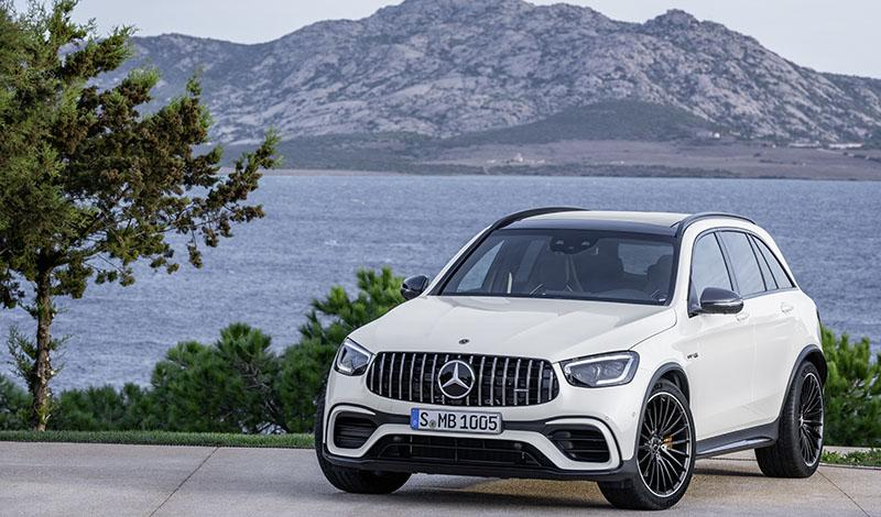 Mercedes представил обновленные модели AMG GLC 63 4MATIC+