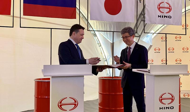 HINO:Грузовики Hino от 3,5 тонн и до 18 тонн теперь производят в России