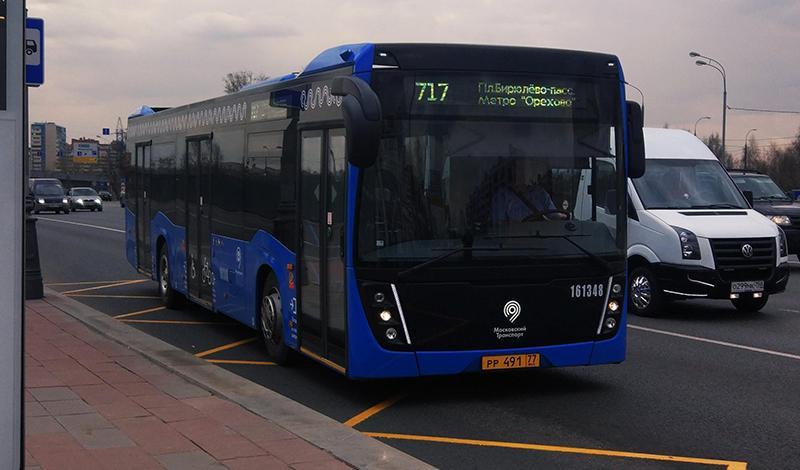 Москве поставлены первые низкопольные автобусы НЕФАЗ-5299-40-52