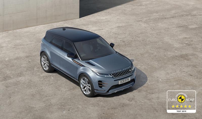 Land Rover:Новый Range Rover Evoque 2019 получил максимальные оценки по итогам краш-теста