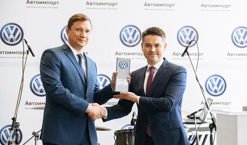 В Липецке открылся новый дилерский центр Volkswagen «Автоимпорт»