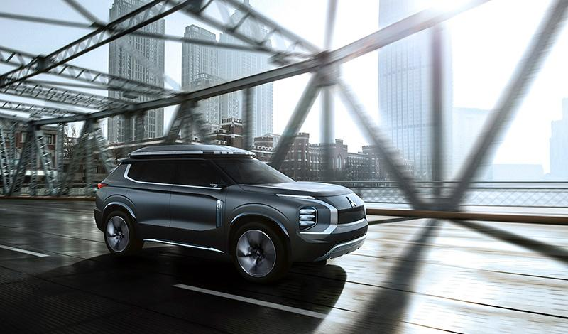 Mitsubishi:Шанхайский автосалон 2019: MITSUBISHI представил концепт E-YI CONCEPT