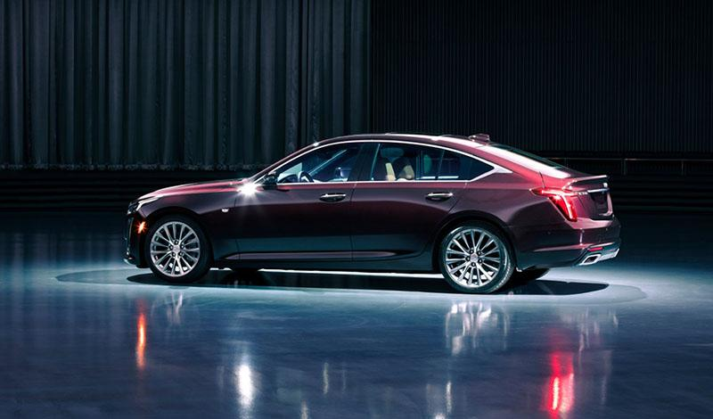 Cadillac:Автосалон Нью-Йорка 2019: Cadillac представил мировую премьеру седана CT5