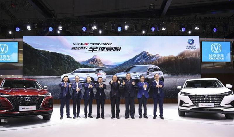 Changan:Автосалон Шанхая 2019: Стенд Changan
