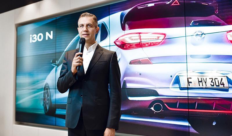 Hyundai представила суббренд N - шильдик N на решетке радиатора обозначает спортивный характер автомобиля