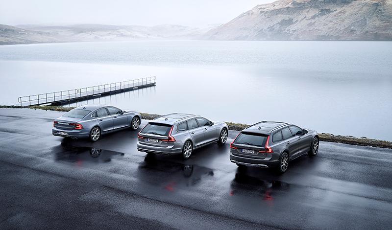 Volvo:Системы безопасности IntelliSafe обновят на автомобилях XC90, S90 и V90 Cross Country 2016-2018 модельных годов