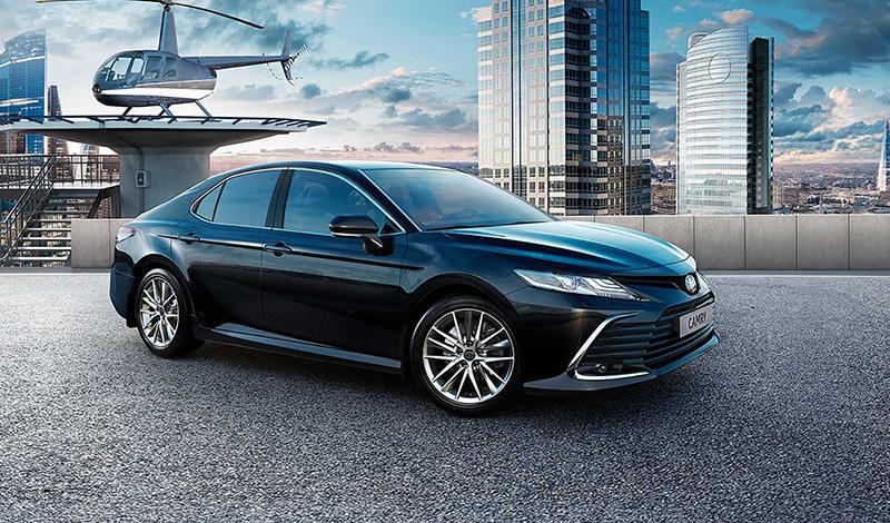 Обновленная Тойота Кэмри для российского рынка