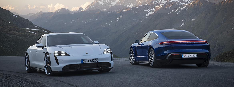 Porsche Taycan получил обновление программного обеспечения