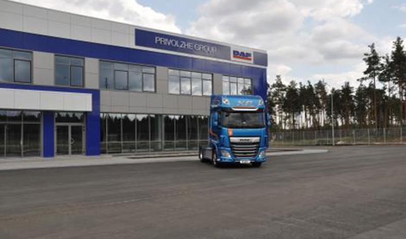 DAF:В Нижнем Новгороде состоялось открытие новой сервисной станции DAF