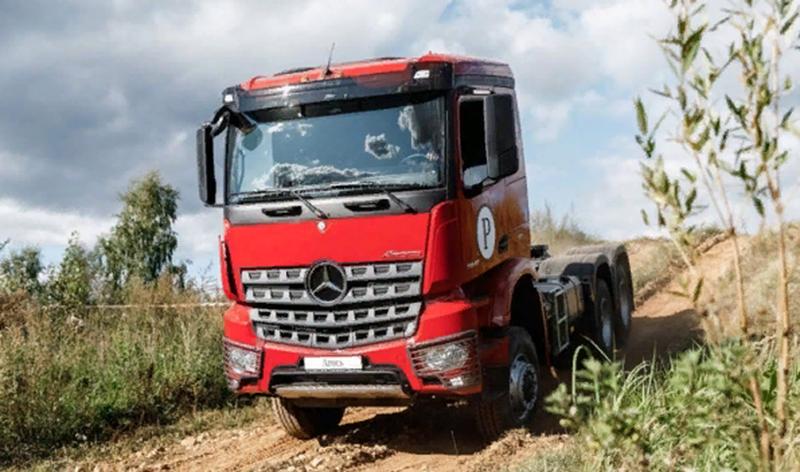 Mercedes-Benz:Mercedes-Benz подготовил к старту продаж на российском рынке новое поколение крупнотоннажных грузовиков Actros и Arocs