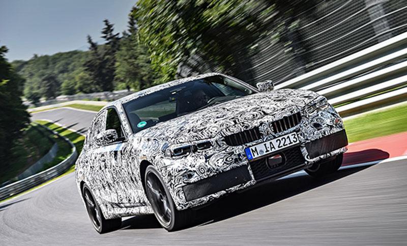 Совсем скоро новый седан BMW 3 серии 2019 года
