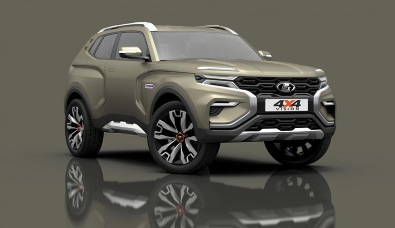 LADA:LADA представила 4 новые модели и продемонстрировала фирменную дизайн-концепцию нового внедорожника