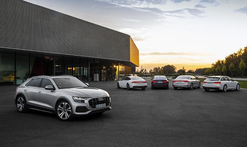 Audi представила новую линейку полноразмерных автомобилей