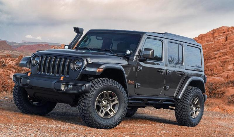 На ежегодном фестивале Jeep Safari в Моабе представлены семь концепт-каров