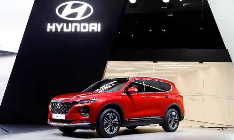 В начале августа будут объявлены цены на Hyundai Santa Fe нового поколения