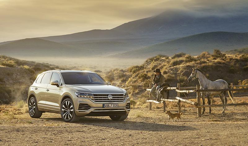 Volkswagen объявляет кредитные ставки на новое поколение модели Touareg в рамках «Volkswagen Гарант»