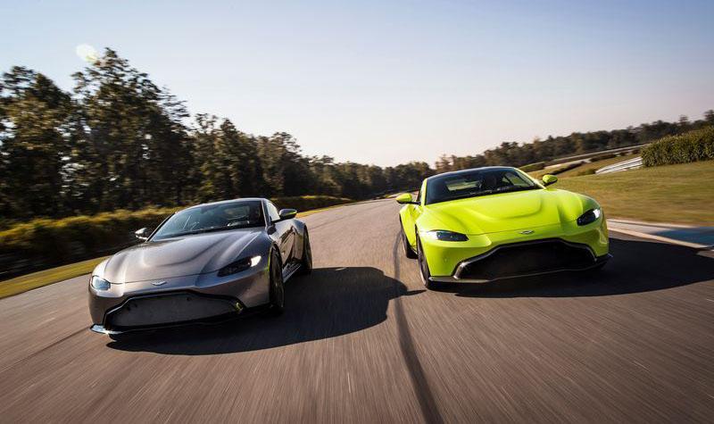 АВИЛОН получил первый суперкар - новый Aston Martin V8 Vantage