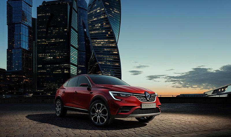 В рамках пресс-конференции Renault Россия представила мировую премьеру нового купе-кроссовера Renault ARKANA