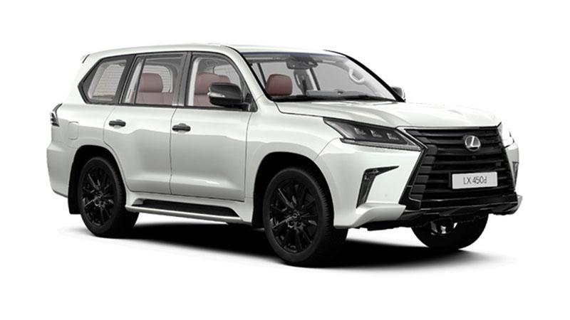 Lexus:Lexus объявляет о начале приема предварительных заказов на новую специальную версию флагманского внедорожника LX – Black Vision