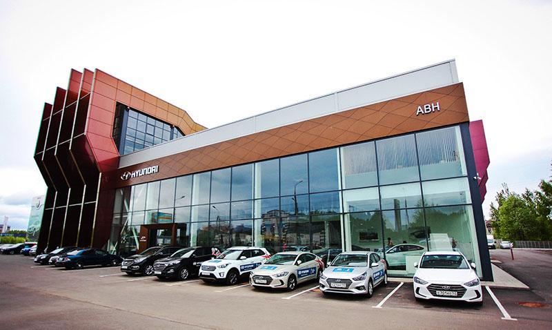 В Великом Новгороде прошло открытие нового дилерского центра Hyundai