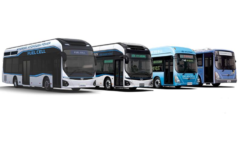 Hyundai:В 2019 году ожидается запуск автобусов нового поколения Hyundai на альтернативном топливе