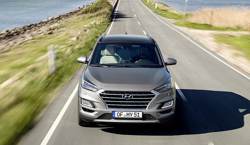 Компания Hyundai объявляет о старте продаж рестайлингового Tucson 2018 года