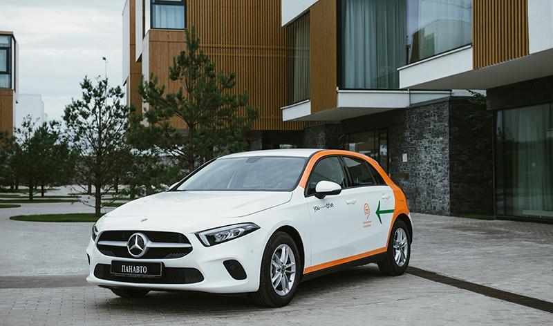 В каршеринге YouDrive появится новый Mercedes-Benz A-Класса