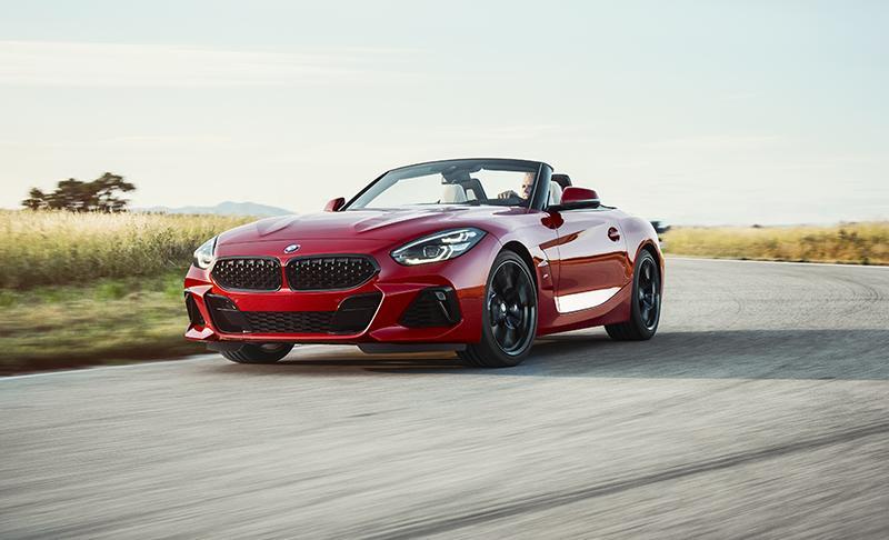 В Калифорнии состоялась мировая премьера BMW Z4 2019 модельного года