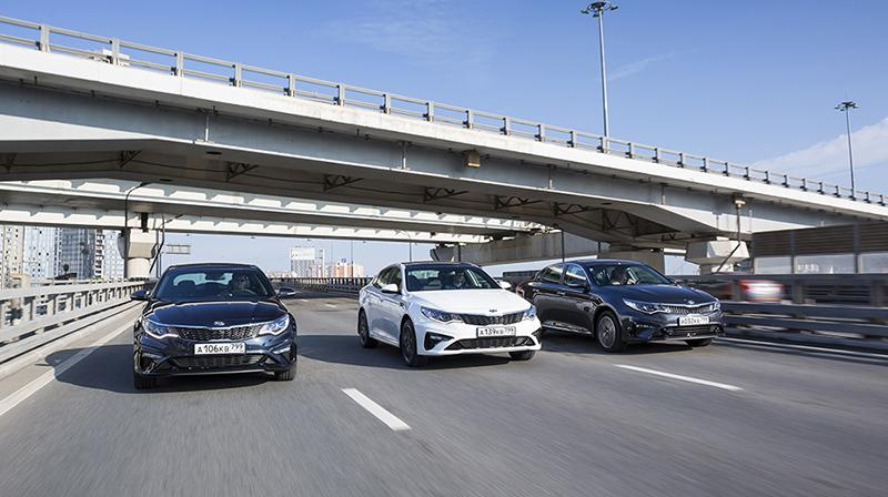 В России стартовали продажи обновленного седана бизнес-класса Optima четвертого поколения