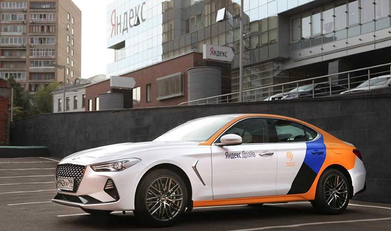 Спортивный седан Genesis G70 пополнит каршеринговый парк Яндекс.Драйва