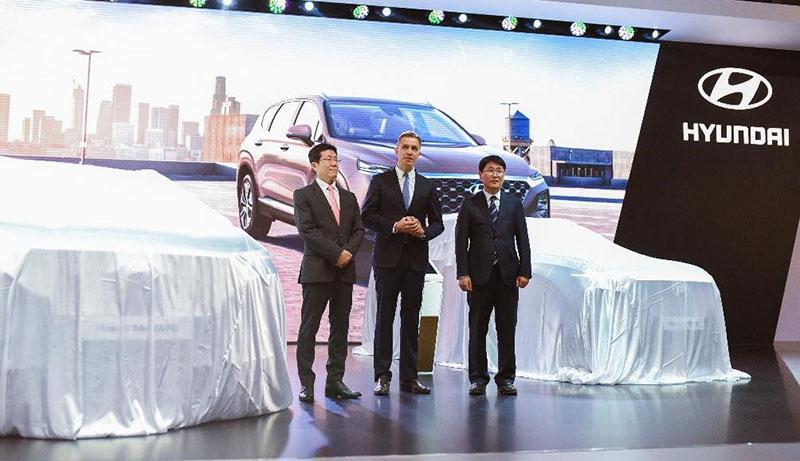 На Московском международном автосалоне бренд Hyundai представил главные российские премьеры