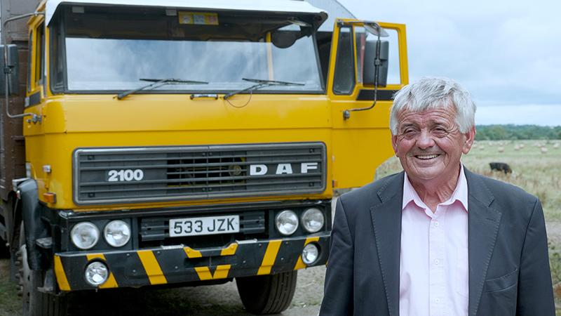 DAF:DAF Trucks ищет самый старый грузовой автомобиль