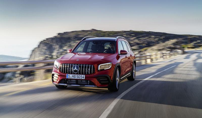 Mercedes-Benz:Mercedes представил AMG GLB 35 4MATIC 2020