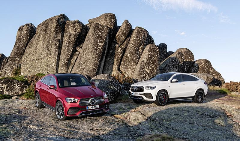 Франкфурт 2019: Мерседес покажет Mercedes-Benz GLE купе 2020