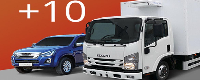ISUZU в первом полугодии 2019 года открыла 10 новых дилерских центров по продаже и обслуживанию грузовой техники и пикапов D-Max